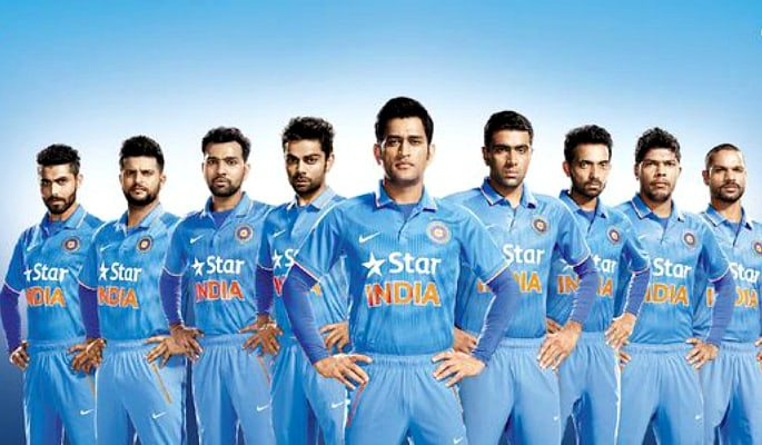 How much has the Indian cricket team kit changed?