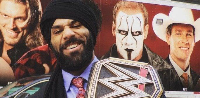 Jinder Mahal wins WWE Universe World Championship