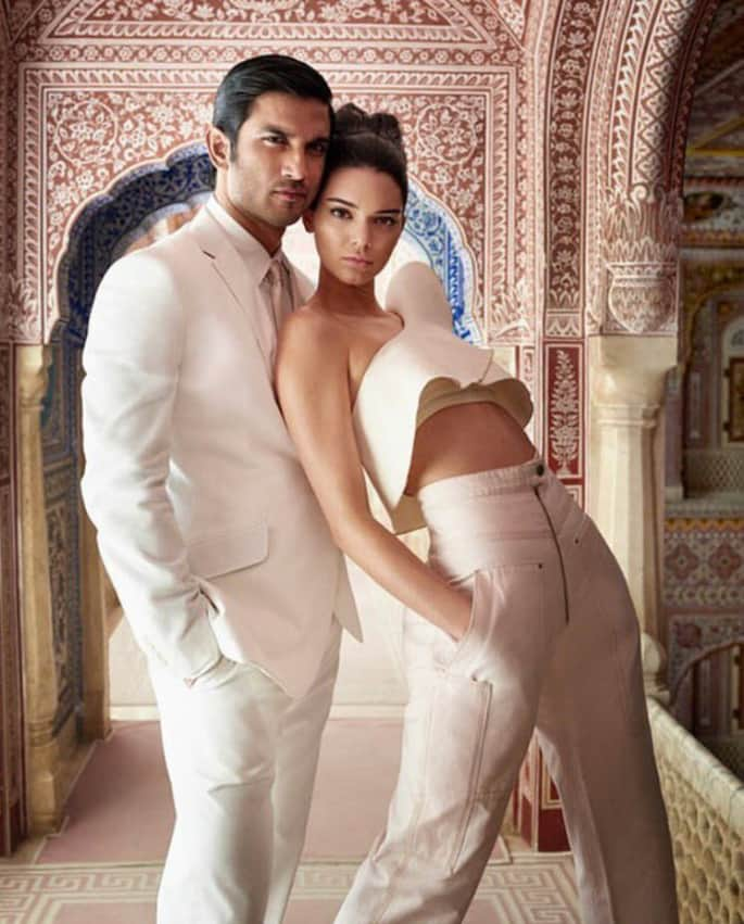 Kendall Jenner joins Sushant Singh Rajput for Vogue India shoot