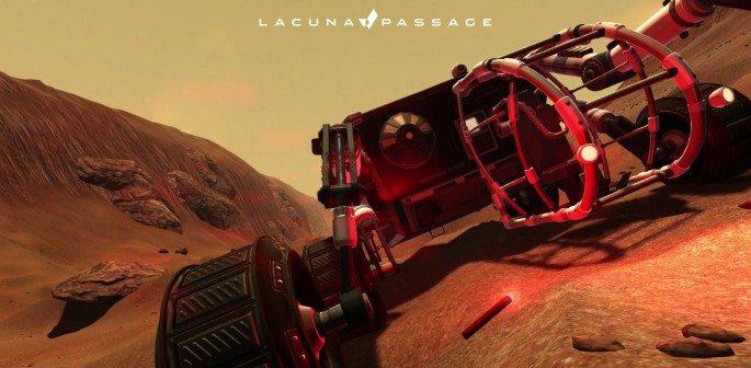 Explore the Martian Landscape with Lacuna Passage