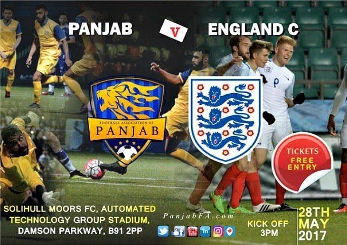 Panjab FA v England C Poster