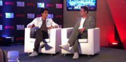 Shahrukh Khan's Special Bromance with Brad Pitt in Mumbai