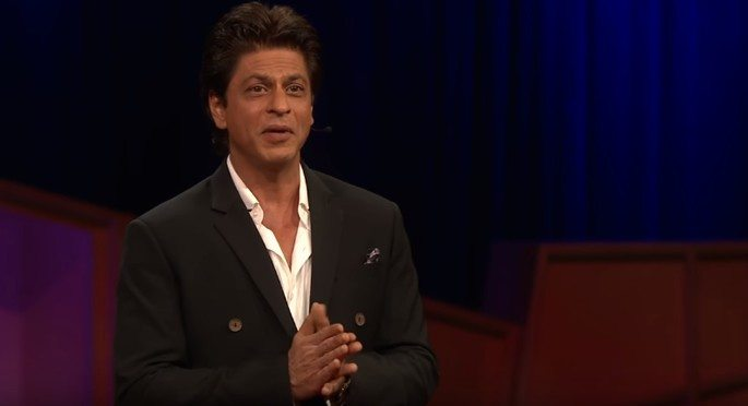 SRK inspires with TED Talk on Kids, Humanity and Lungi Dance