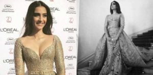 Sonam Kapoor is 'Golden Girl' at Cannes 2017