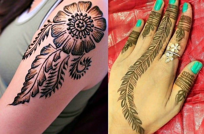 Mehndi Tattoo Peacock Feather : 10 stunning bridal mehndi designs desiblitz