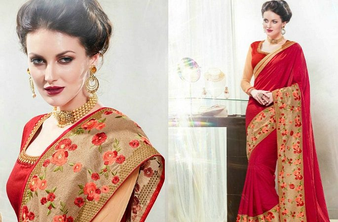 The Fashionable Style of Starlet Sarees - Image 3