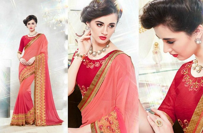 The Fashionable Style of Starlet Sarees- Image 4