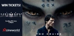 Win Tickets to see The Mummy