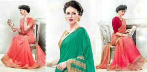 The Fashionable Style of Starlet Sarees