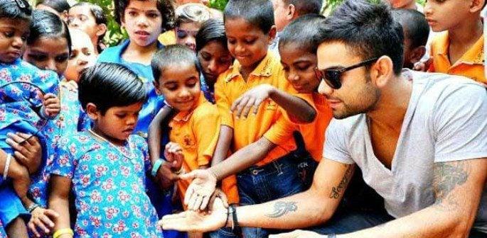 Virat Kohli Charity Ball fundraising for India's Underprivileged