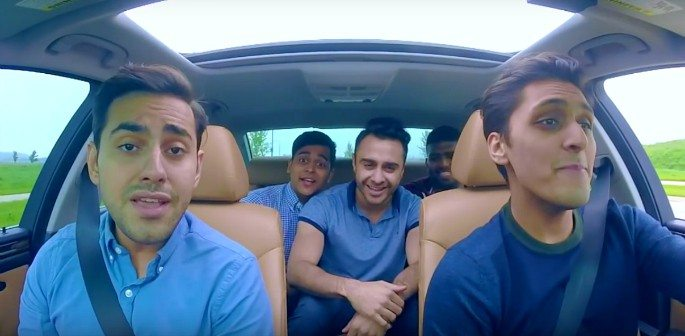 Carpool Cover of 'Nashe Si Chadh Gayi' and 'Bailando' goes Viral