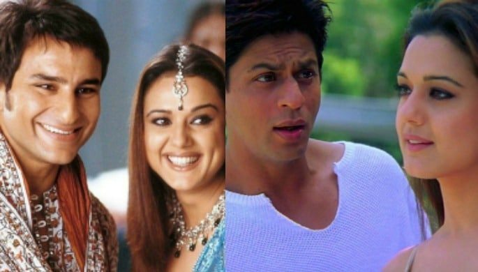 love triangle kal ho na ho