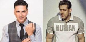 سلمان خان نے بالی ووڈ میں اکشے کمار کو 'بِجر اسٹار' کی حیثیت سے سراہا