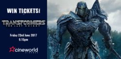 Win Tickets to see Transformers: The Last Knight