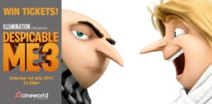 Win Tickets to see Despicable Me 3