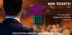 Win Tickets for The Education Awards 2017