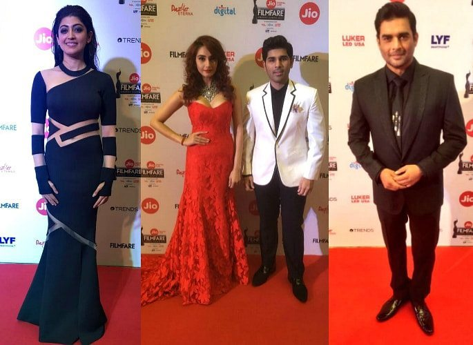 64th Jio Filmfare Awards South 2017 Winners