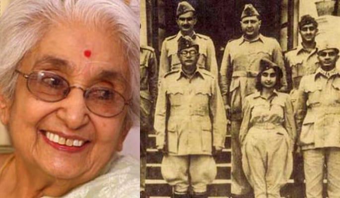 भारतीय नायिकाएँ - लक्ष्मी सहगल