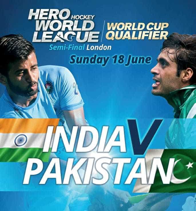 2017 Hockey World League London ~ India vs Pakistan