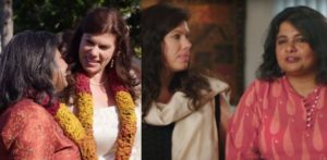 Lesbian Brides celebrate Traditional Indian Wedding on TV