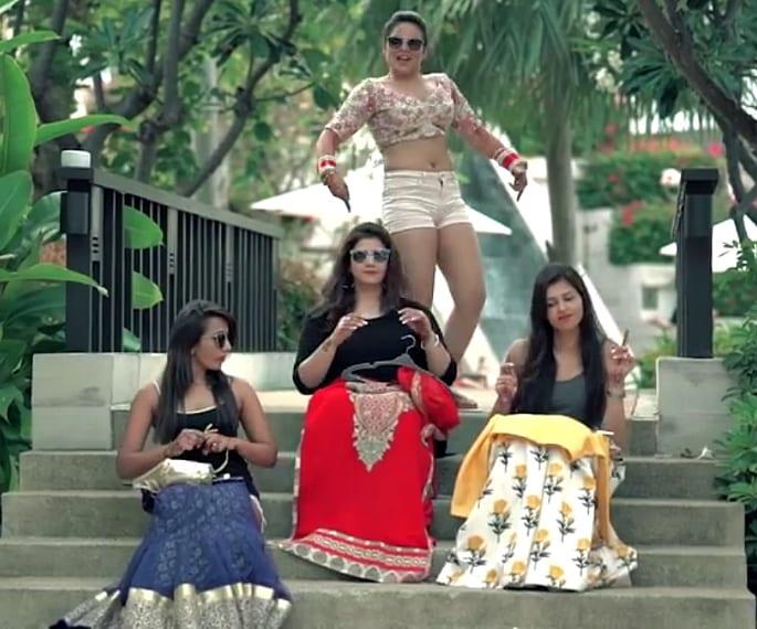 Indian Bride breaks Wedding Stereotypes in Viral Video