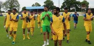 Panjab FA shows its Valour and Skill against England C