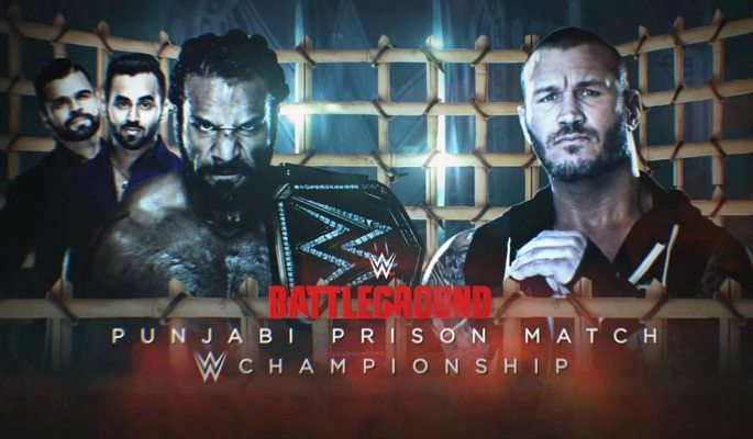 Jinder Mahal to fight Randy Orton in Punjabi Prison Match