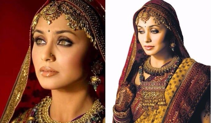 Rani Baabul Bridal Outfit