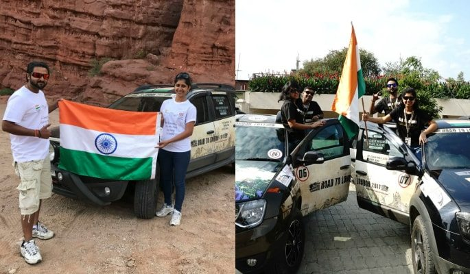'Road to London' ~ An Ambitious Road Trip to London from India