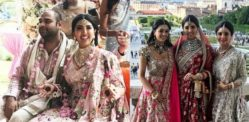 Sonam Vaswani weds Navin Fabiani in romantic Vienna Wedding