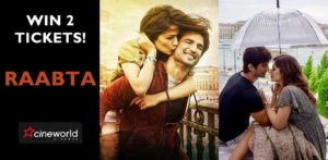 Win Tickets to see Raabta