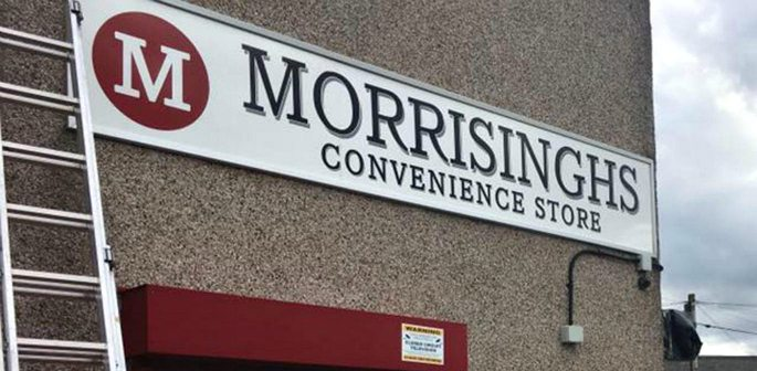 Shop owner changes Singhsbury's to Morrisinghs after legal threats