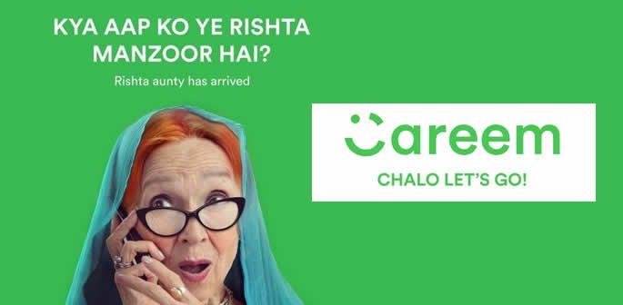 Get a 'Rishta Aunty' in a Careem Taxi in Pakistan