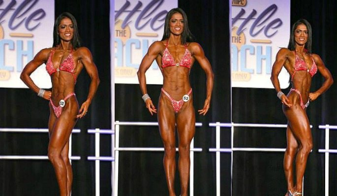 Deepika Chowdhury is India's first feamle IFBB Professional