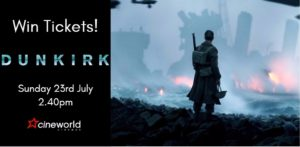 Win Tickets to see Dunkirk
