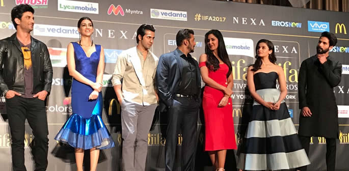 IIFA 2017 Weekend in New York begins with a 'Stomp'!