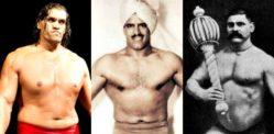 5 நம்பமுடியாத இந்திய மற்றும் பாகிஸ்தான் மல்யுத்த வீரர்கள்