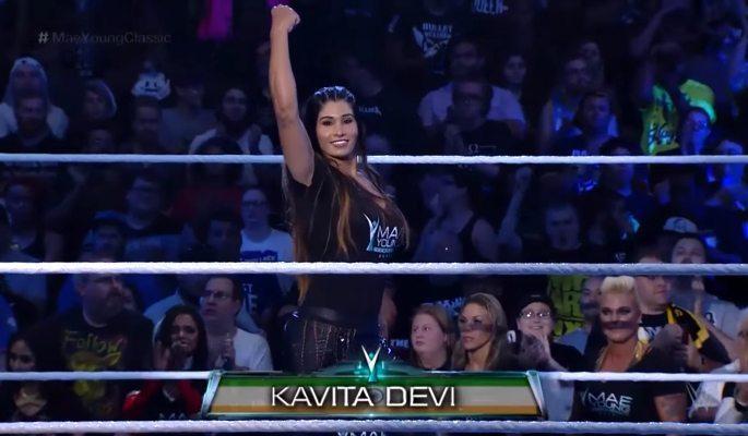 கவிதா தேவி ~ WWE இன் முதல் இந்திய பெண் மல்யுத்த வீரர்