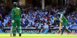 પાકિસ્તાન ક્રિકેટ O 6 ઓવલ ખાતે આઇકોનિક પળો