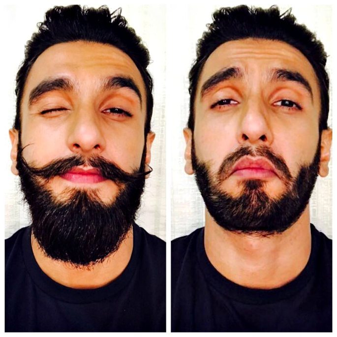 Ranveer Singh cuts off Facial Hair on Instagram Live