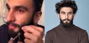 Ranveer Singh cuts off Facial Hair on Instagram Live