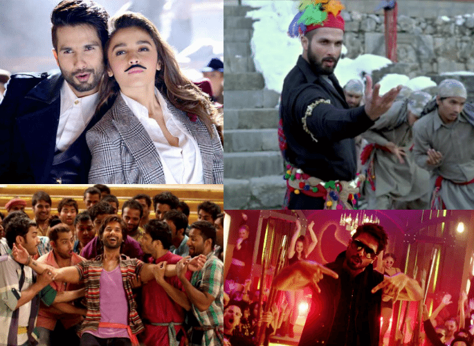 Shahid Kapoors Most Electrifying Dance Songs-2