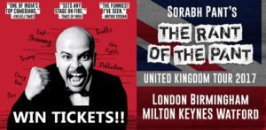 Win Tickets to Sorabh Pant's 'The Rant of the Pant'