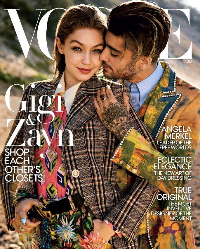 Zayn Malik and Gigi Hadid are Perfect Couple on Vogue