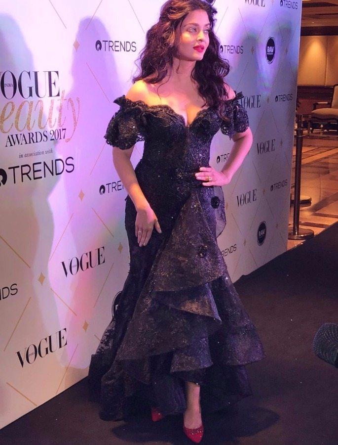 Aishwariya Rai Bachan Vogue Beauty Awards