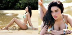 Bigg Boss Contestant Gizele Thakral sizzles in Bikini on Holiday