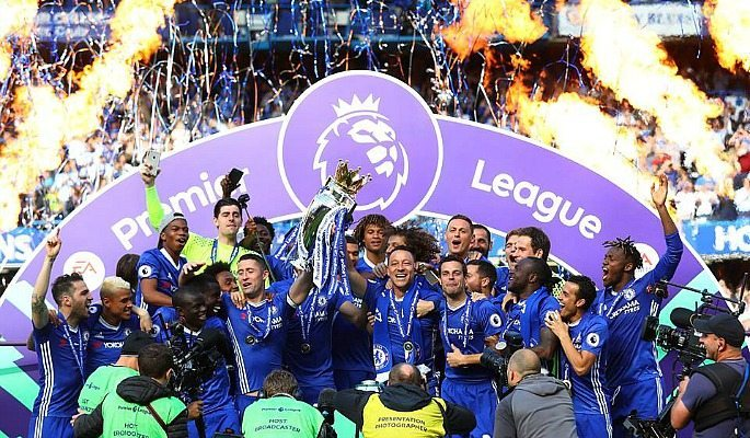 Chelsea are the reigning Premier League champions