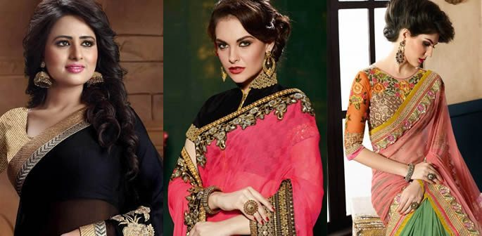 Sensual Chiffon Saree Designs and Styles to Wear