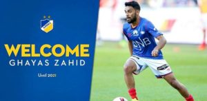 Ghayas Zahid to play Champions League Football with APOEL