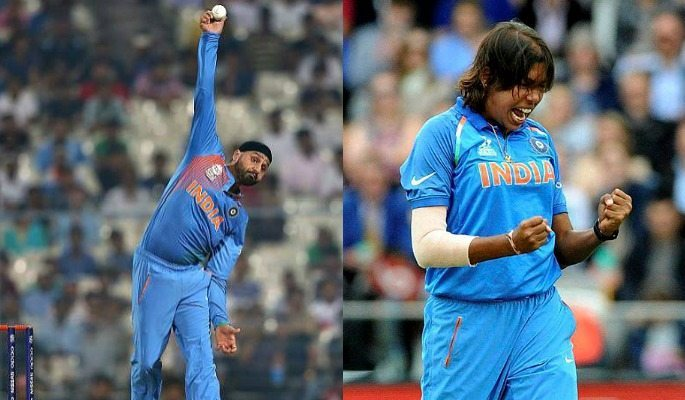 Jhulan Goswami and Harbhajan Singh are the two best current bowlers of the Indian cricket teams